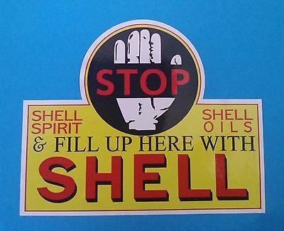 """/""""KANGAROO AUSTRALIAN/"""" PETROL OIL LOGO GARAGE GAS STATION PROMO STICKER DECAL"""