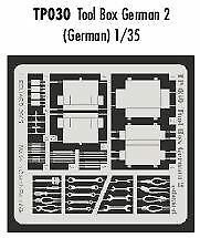 Eduard 1//35 German tool box # TP030