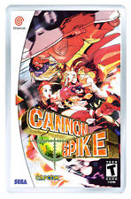 CANNON SPIKE SEGA DREAMCAST FRIDGE MAGNET IMAN NEVERA