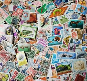 1000s-DIFFERENT-Mint-Used-WORLDWIDE-Stamps-Collection-Lot-Pack-of-100-BONUS