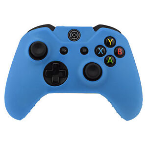 XBOX-ONE-Blue-Silicone-Protective-Controller-Cover-Customise-Personalise-UK