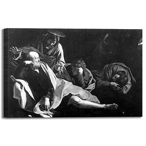 Caravaggio Cristo alla colonna quadro stampa tela dipinto telaio arredo casa