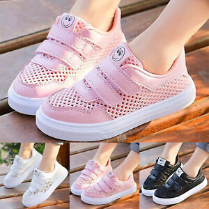 Kids Children Mesh Running Trainers Boys Girls Comfort Sports Shoes Breathable