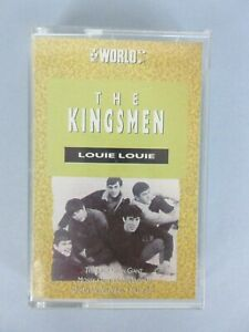 Vintage The Kingsmen Louie Louie Cassette Tape Garage Rock Made In Canada