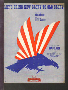 Let-039-s-Bring-New-Glory-To-Old-Glory-1942-WWII-034-Iceland-034-Movie-Sheet-Music-Q23