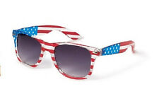 AMERICAN FLAG Wayfarer SUNGLASSES ~ Forever 21 ~  Adult One Size ~ NEW