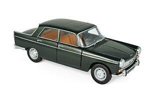 Norev 184833 - Peugeot 404 1965 Antique Green 1/18