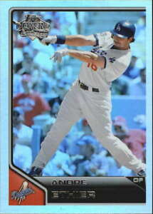 2011-Topps-Lineage-Diamond-Anniversary-Refractor-123-Andre-Ethier-Dodgers-NM-MT