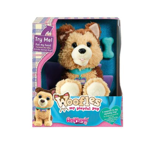 Woofles My Playful Puppy Animagic Interactive Real Life Like Pet Dog