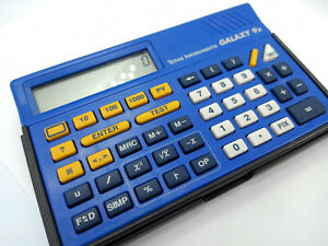 Texas Instruments GALAXY 9x Calculator Retro Collectible Vintage 1991-1993