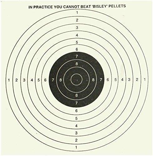 Bisley 5+1 17cm Targets Set of 25   Bulk Set of 1000 Shooting Range Accuracy