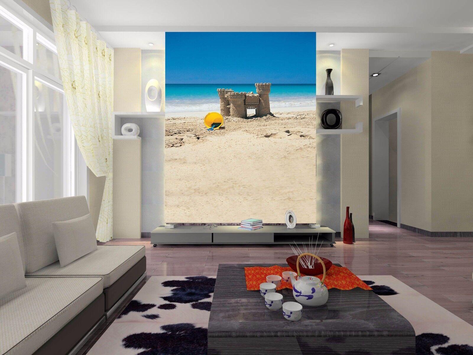 3D Sky Beach Sea 774 Wallpaper Mural Paper Wall Print Wallpaper Murals UK Lemon