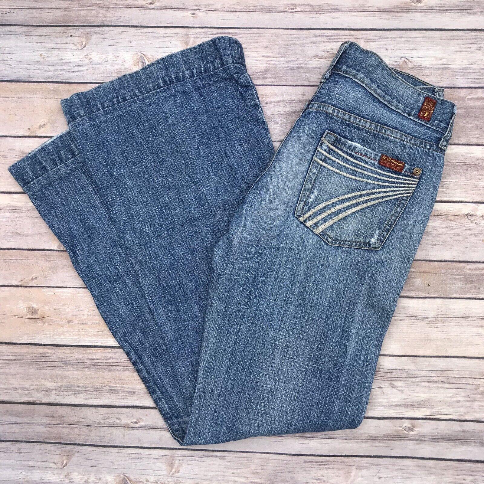 7 For All Mankind Jeans Größe 26 Dojo Flare