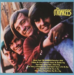 NEW-CD-Album-The-Monkees-Self-Titled-Mini-LP-Style-Card-Case