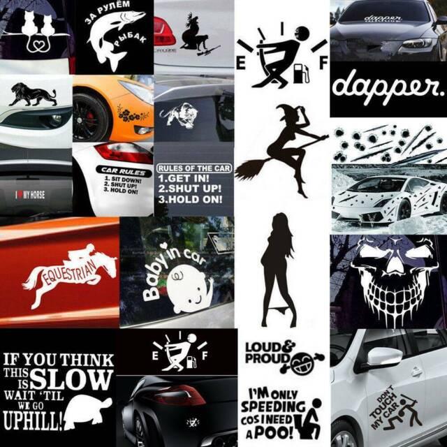 Funny Car Sticker Truck Boat Window Bumper Body Vinyl Decal Waterproof Fine