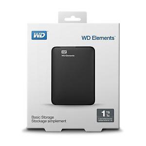 0f15a07cc1 Details about Western Digital WD Elements 1TB 2.5