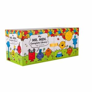 NEW-Mr-Men-Complete-Library-Set-47-Hard-Cover-Books-Collection-Box-FREE-AU-POST