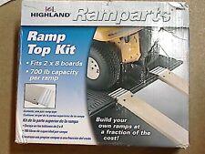 2 Piece 0725100 Highland Ramparts 8 Professional Series Aluminum Ramp Top Kit