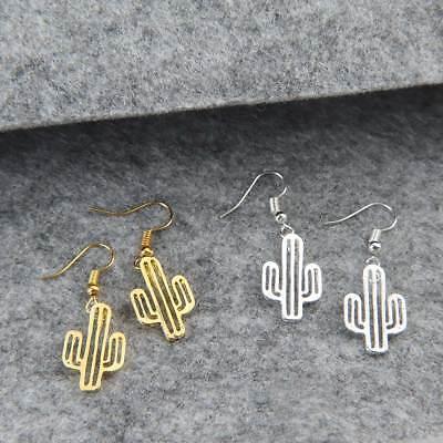 Cute Women Girl Alloy Cactus Drop Earring Dangle Earring Fashion Jewelry