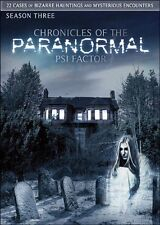 PSI Factor: Chronicles of the Paranormal, Season 3 (DVD, 2013, 3-disc set)