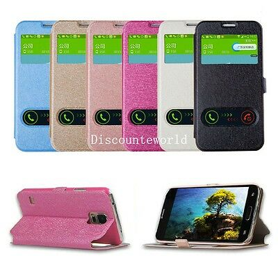 Ultra Slim Flip Wallet Leather Case Cover For Samsung Galaxy S3 S4 S5 Note 2