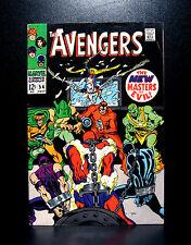 COMICS: Marvel: Avengers #54 (1968), 1st Ultron-5 cameo/Crimson Cowl app - RARE