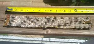 Real Deal   Vintage Roaring 20's    Wide   Rhinestone Necklace  Choker