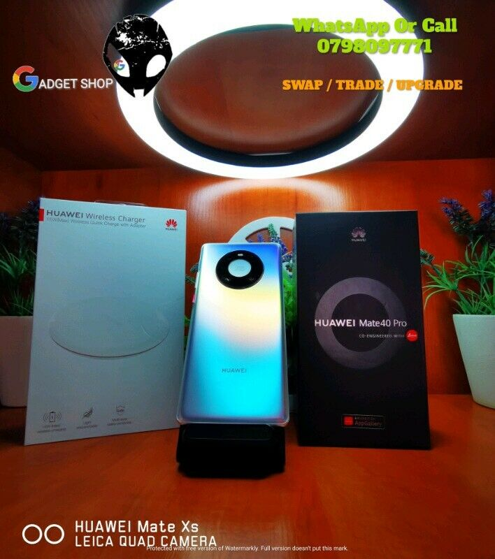 Huawei Mate 40 Pro 256GB Dual Sim - Mystic Silver