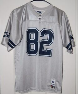 low priced ac603 96782 Details about Cowboys Authentic Jason Witten #82 Silver Jersey sz L