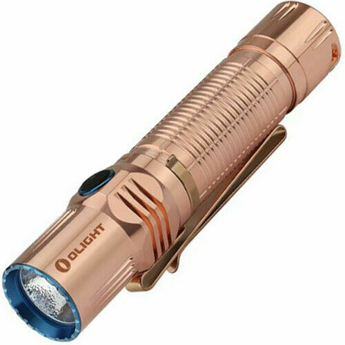 Olight M2R Cu Warrior Copper 1500 lumen Tactical LED Flashlight w// Battery