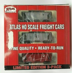 Atlas-HO-PS-2-Covered-Hopper-2-Bay-3-Pack-Jersey-Central-1101