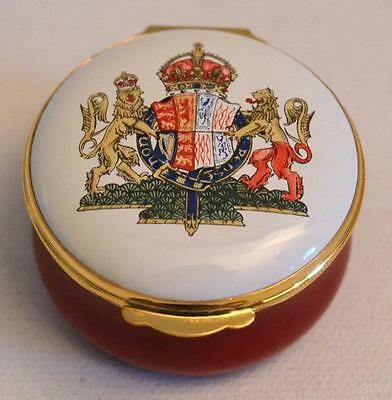 Crummles &Co. English Enamels Limited Edition 100th Anniversary Queen Mother Box