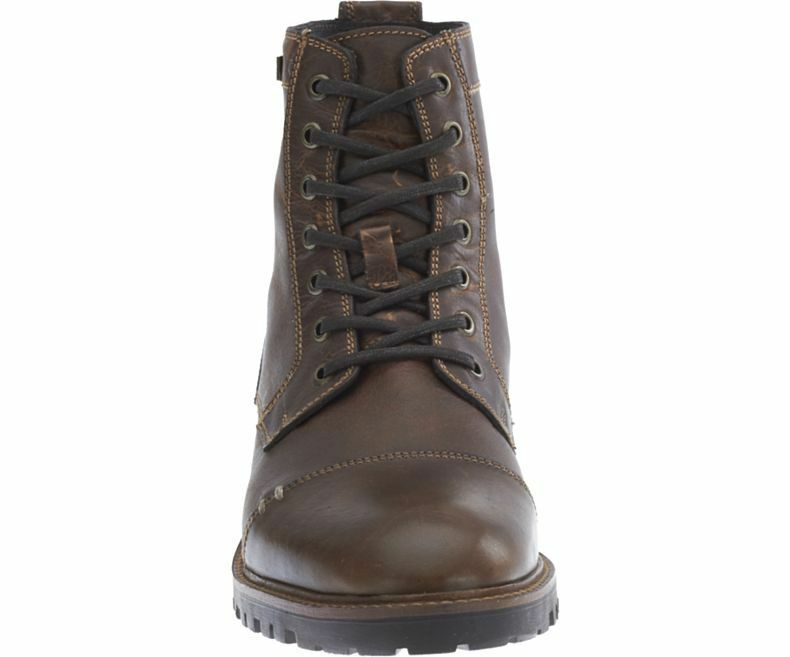Harley Davidson  New Aldrich Brown Leather Leather Leather Biker  Boots  Rocks b18a2e