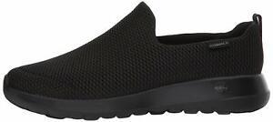 Skechers-Mens-Go-Walk-Max-Fabric-Low-Top-Slip-On-Walking-Shoes-Black-Size-12-5