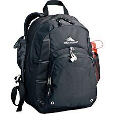 Lightweight Simple School Travel Impact Daypack Backpack Black bag High Sierra