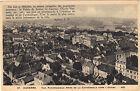 89 - cpa - AUXERRE - Vue panoramique prise de la cathédrale vers l'Ouest