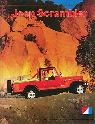 1981 JEEP BROCHURE