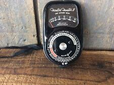 Vintage Weston Master Two Cine Exposure Meter Model 736