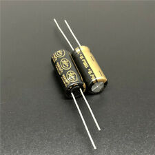 2 pcs Nichicon Elko UPM1A820MDD 105° 82uF 10V Low ESR  5x11mm RM2  #BP