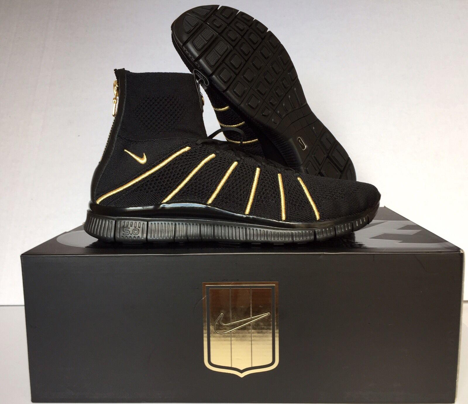 Nike free flyknit sprunghafter balmain war olivier rousteing nikelab 834906 007 sz 9,5