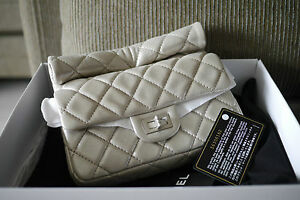 618f9c7dab91 Image is loading AUTHENTIC-2-55-Calfskin-Rolled-Reissue-Clutch-LIMITED-