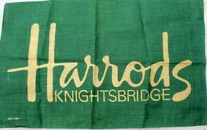 Harrods Knightsbridge Irish linen Tea Towel