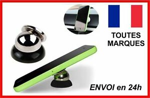 SUPPORT-MAGNETIQUE-VOITURE-SMARTPHONE-TELEPHONE-MOBILE-360-UNIVERSEL-ROTATIF