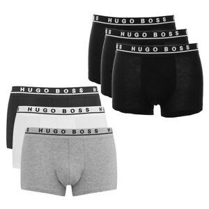 3 er Pack Hugo Boss Herren Boxershorts Unterwäsche Gr XL NEU
