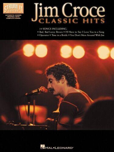 Jim Croce Classic Hits Sheet Music Strum It Guitar Book NEW 000699269