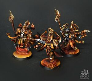 Details about Infernal Exalted Sorcerers Tzeentch thousand sons **  COMMISSION ** painting