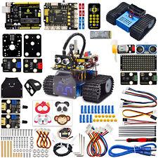 Keyestudio Mini Smart Tank Car Programmable Robot Kit Diy For Arduino Robotics