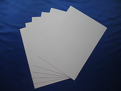 6pcs 0.3mm PVC Plastic Sheets A4 210mm*297mm for Inkjet Printing Plastic Cards