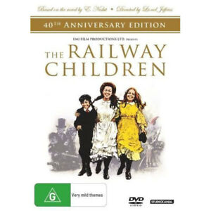 The-Railway-Children-40th-Anniversary-Edition-NEW-DVD-Region-4-Australia