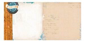 Bobunny-12x12-Scrapbooking-Papier-Happy-Queues-Collection-X-2-Pages